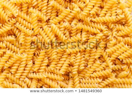 Uncooked pasta Fusilli Stock photo © Stocksnapper