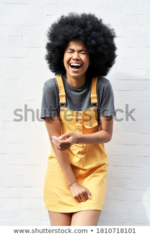 woman posing wearing sundress Stock photo © chesterf