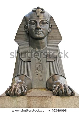Sphinx on London Embankment Stock photo © chrisdorney