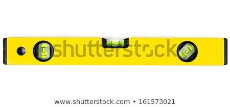 Pormenor espírito nível vidro cobrir amarelo Foto stock © Arrxxx