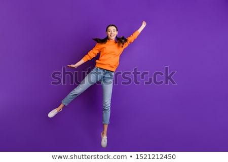 Cheerful Teen Stock photo © zhekos