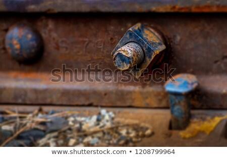 railroad closeup Stock photo © mycola