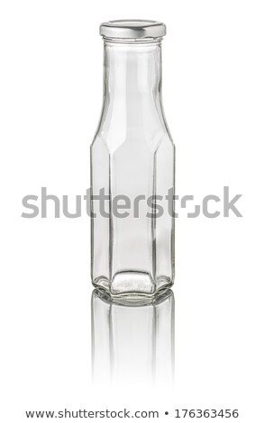 isolated hexagonal milk bottle Stock photo © Zerbor