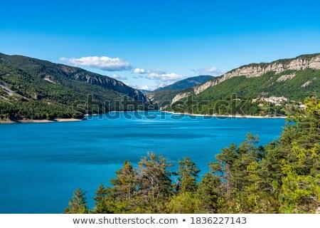 bridge near Castellane, Provence, France Stock photo © phbcz