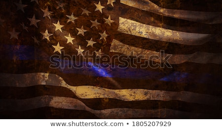 blue line and wavy background Stock photo © Kheat