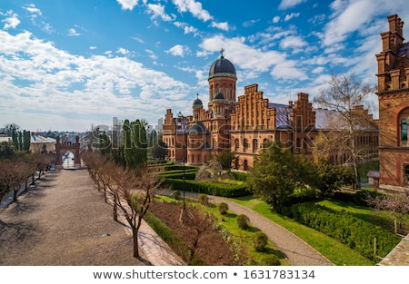 Residence of Bukovinian and Dalmatian Metropolitans Stock photo © maxpro