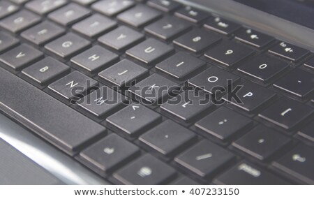 Close up of white labtop with mouse Stock photo © punsayaporn