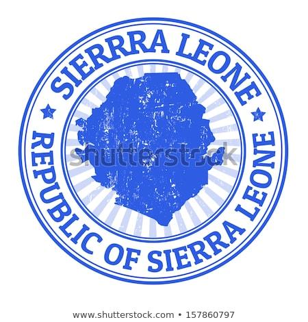 button as a symbol sierra leone stock photo © mayboro1964