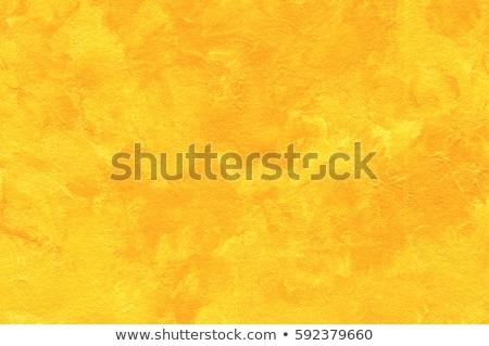 黄色 抽象的な ブラシ テクスチャ 紙 レトロな ストックフォト © Kheat