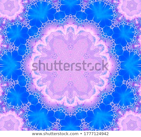 illustration fractal background lacy flower with Crackle Stock photo © yurkina