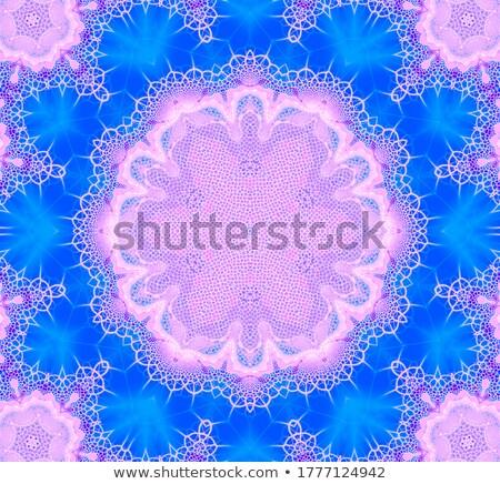 Ilustração fractal flor abstrato luz fundo Foto stock © yurkina
