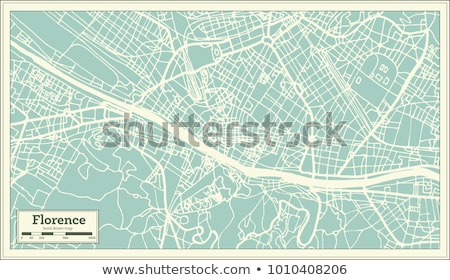 Map of Italy, Firenze Stock photo © Istanbul2009