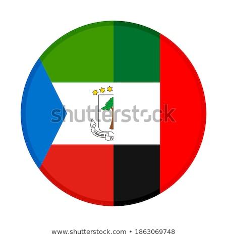 Verenigde Arabische Emiraten Equatoriaal-Guinea vlaggen puzzel geïsoleerd witte Stockfoto © Istanbul2009