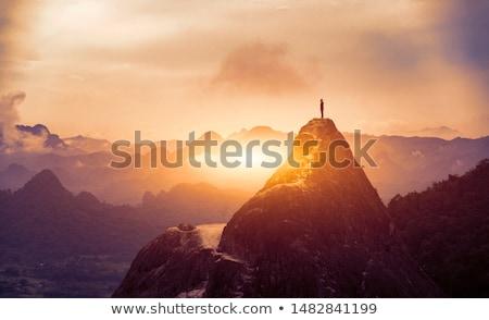 Beautiful mountains view. Stock photo © macsim