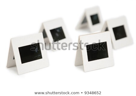 Stock photo: Five pairs of slides 2. all slides mine