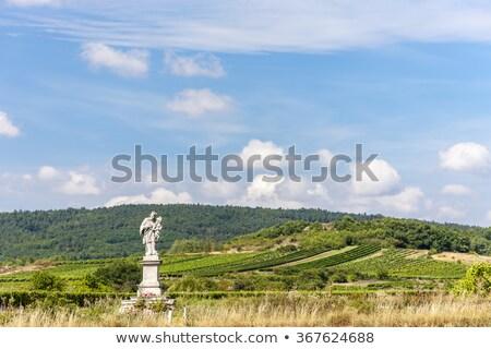 szőlőskert · alsó · Ausztria · épület · kereszt · építészet - stock fotó © phbcz