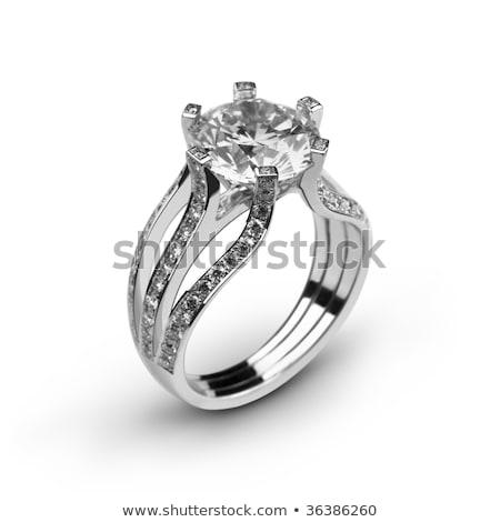 Groot bloemblaadjes een groot diamant bed Stockfoto © rghenry