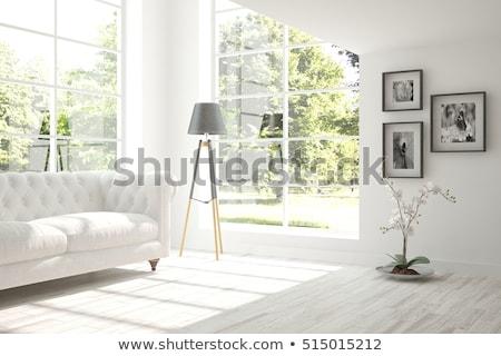 комнату · свет · фон · синий · интерьер · реклама - Сток-фото © SArts