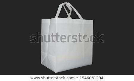 Shopping · sac · isolé · blanche · boîte · cadeau - photo stock © kayros