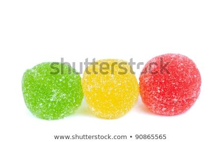 frutta · gelatina · candy · rosso · forcella · dolce - foto d'archivio © digifoodstock