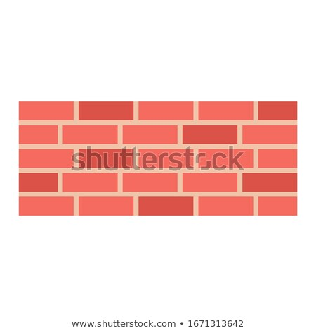 Vector flat style illustration of red house. Icon for web. Stock photo © curiosity