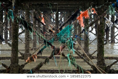 Rusty and colorful pier Stock photo © tracer