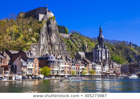 Dinant Citadel in Autumn Stock photo © zhekos