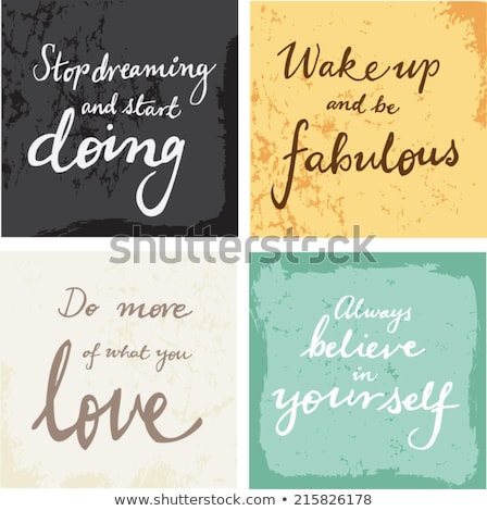 Stop Dreaming Start Doing Concept with Doodle Design Icons. Stock photo © tashatuvango