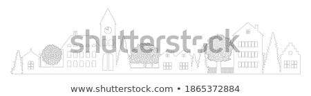 книжка-раскраска · здание · церкви · книга · здании · искусства · Церкви - Сток-фото © lenm