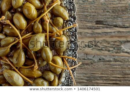 bessen · schotel · gekookt · witte · voedsel · vruchten - stockfoto © bdspn