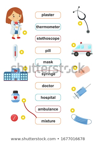 Spell it out ambulance Stock photo © bluering