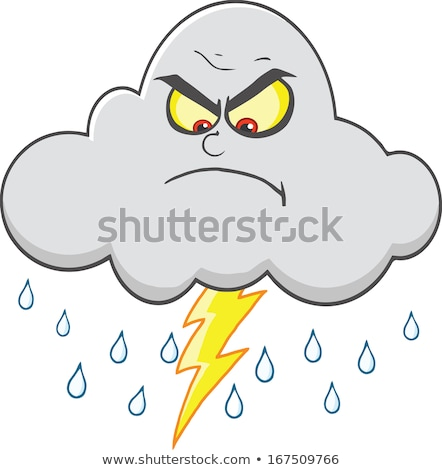 Cartoon Lightning Crying Stock photo © cthoman