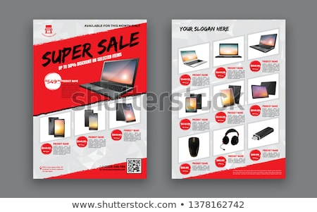 Special offer banners, vector advertising sample Stock photo © robuart