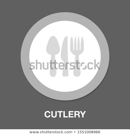 vector set of knife stock photo © olllikeballoon