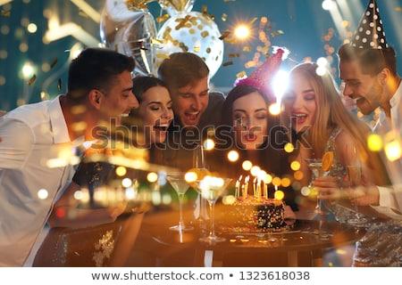 Celebrating birthday Stock photo © pressmaster