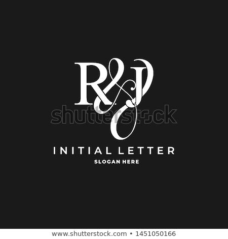 creative initial Letter RJ Logo Stock photo © krustovin