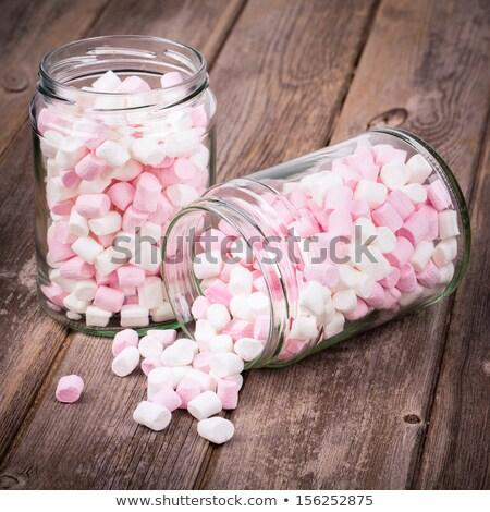 Witte roze jar partij verjaardag achtergrond Stockfoto © galitskaya