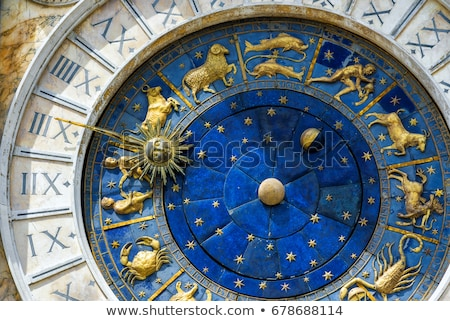 St Mark's Clock Tower in Venice on Piazza San Marco. Stock photo © ShustrikS