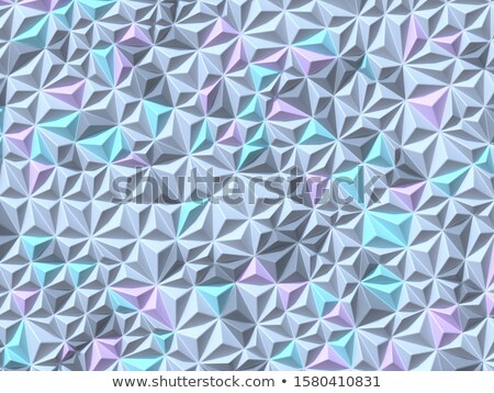Abstract geometric four pastel color Triangulated background 3D Stock photo © djmilic