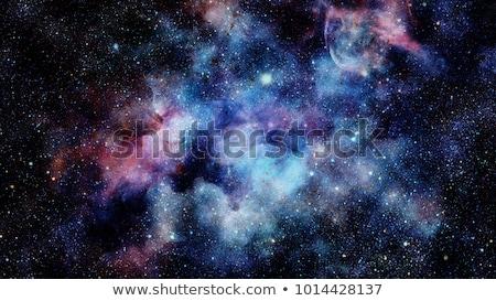 Streszczenie planety kosmiczny przestrzeni twórczej zdjęcie Zdjęcia stock © artjazz