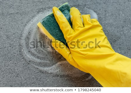 Sponge cleaning Stock photo © simply
