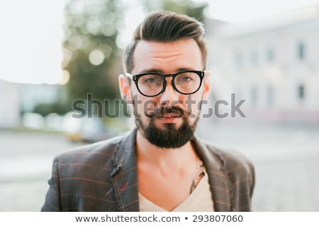 Portrait of bearded guy stock photo © Paha_L