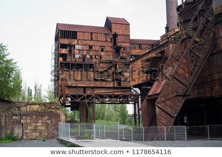 ciężki · przemysłu · ruiny · przemysłowych · miejsce - zdjęcia stock © razvanphotography