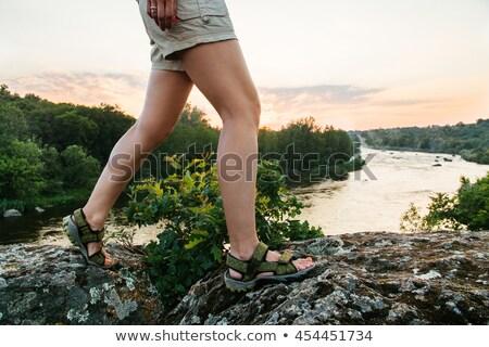 походов фон обуви белый Сток-фото © FOKA