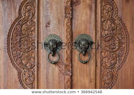Balinese door handles Stock photo © leeser