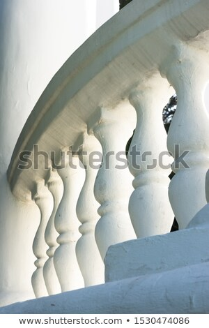 Stone banister Stock photo © Ximinez