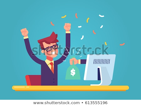 earnings in the internet stock photo © rufous