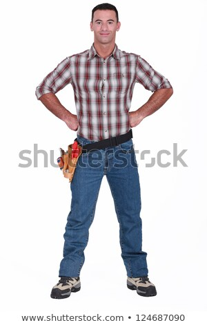 Artisan posing with hands on hips Stock photo © photography33