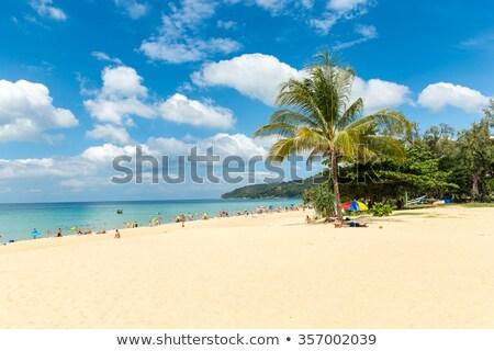 Tropical paisagem praia Tailândia phuket marinha Foto stock © pzaxe