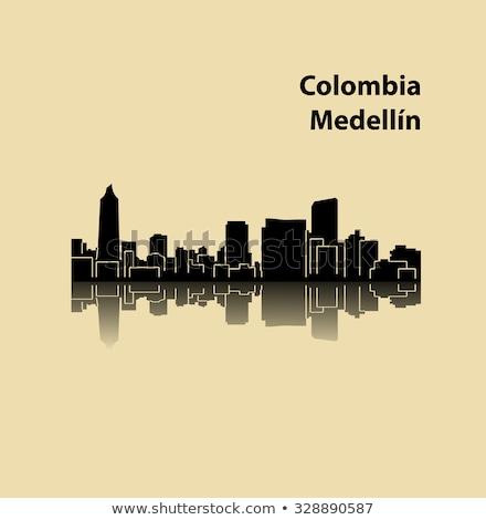 Steeple in Medellin, Colombia Stock photo © ildi